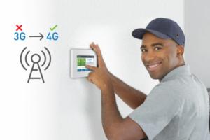 3G to 4G radio transition